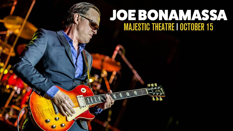 Enter to Win Joe Bonamassa Tickets for October 15th!