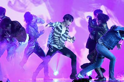 Watch: BTS wows UNGA with 'Permission to Dance' performance inside assembly hall