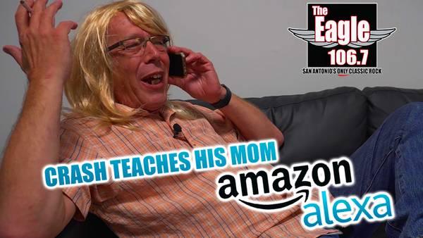 Crash Teaches His Mom How to Alexa