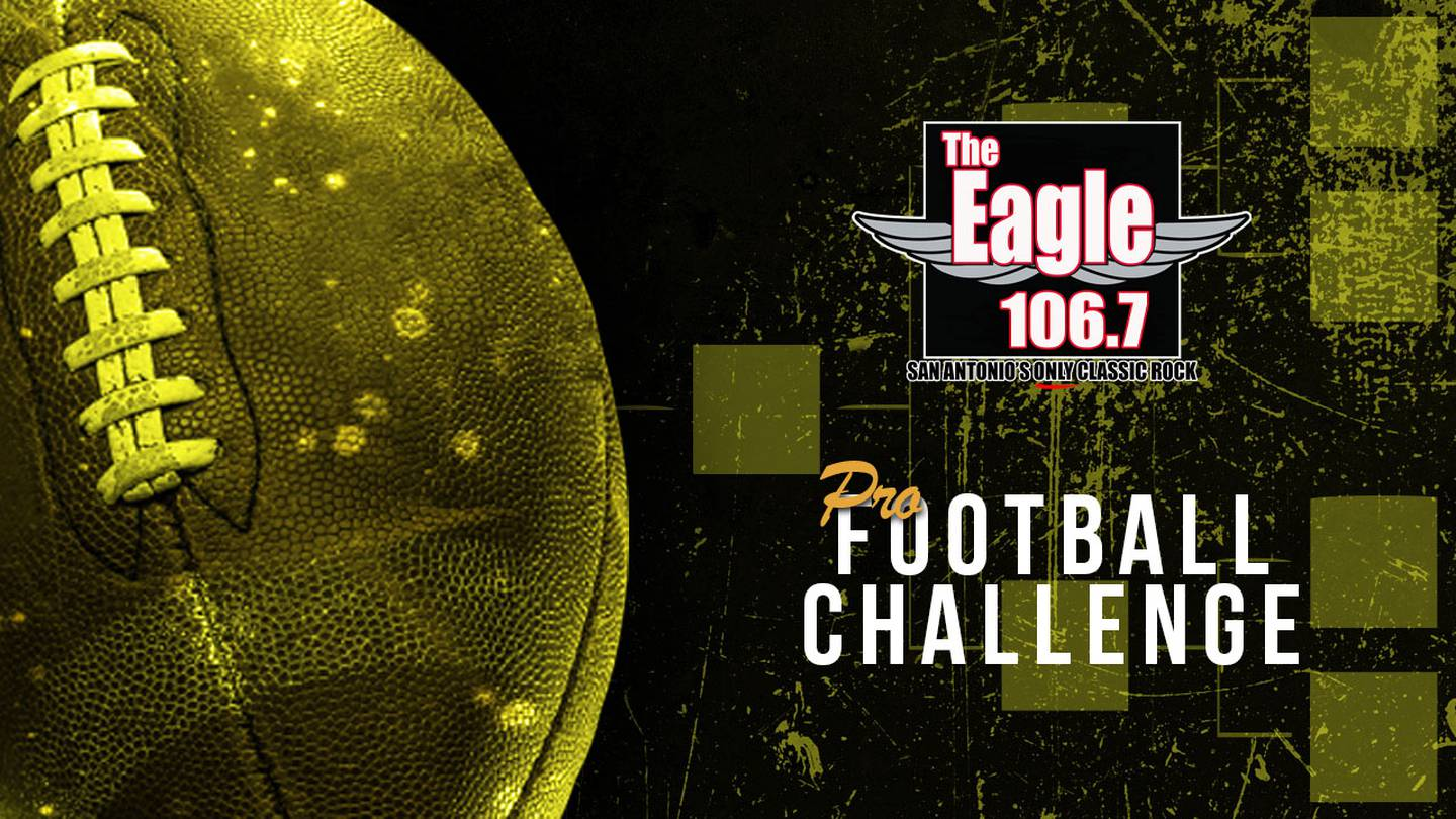 Make Your Pro Football Picks for a Chance at $50,000 with The Eagle 106.7!
